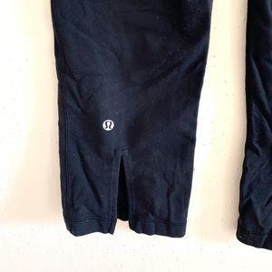 lululemon athletica Pants - Lululemon Gather and Crow Crop Black/Quilt